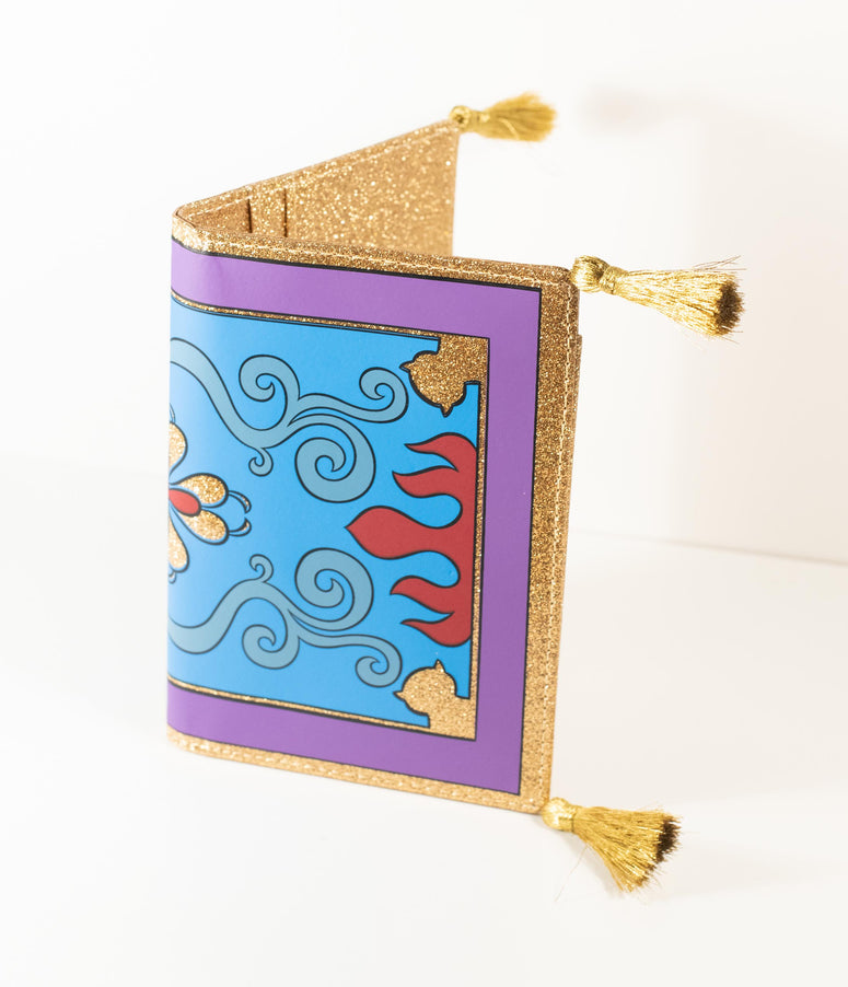 Cakeworthy Aladdin Magic Carpet Passport Holder
