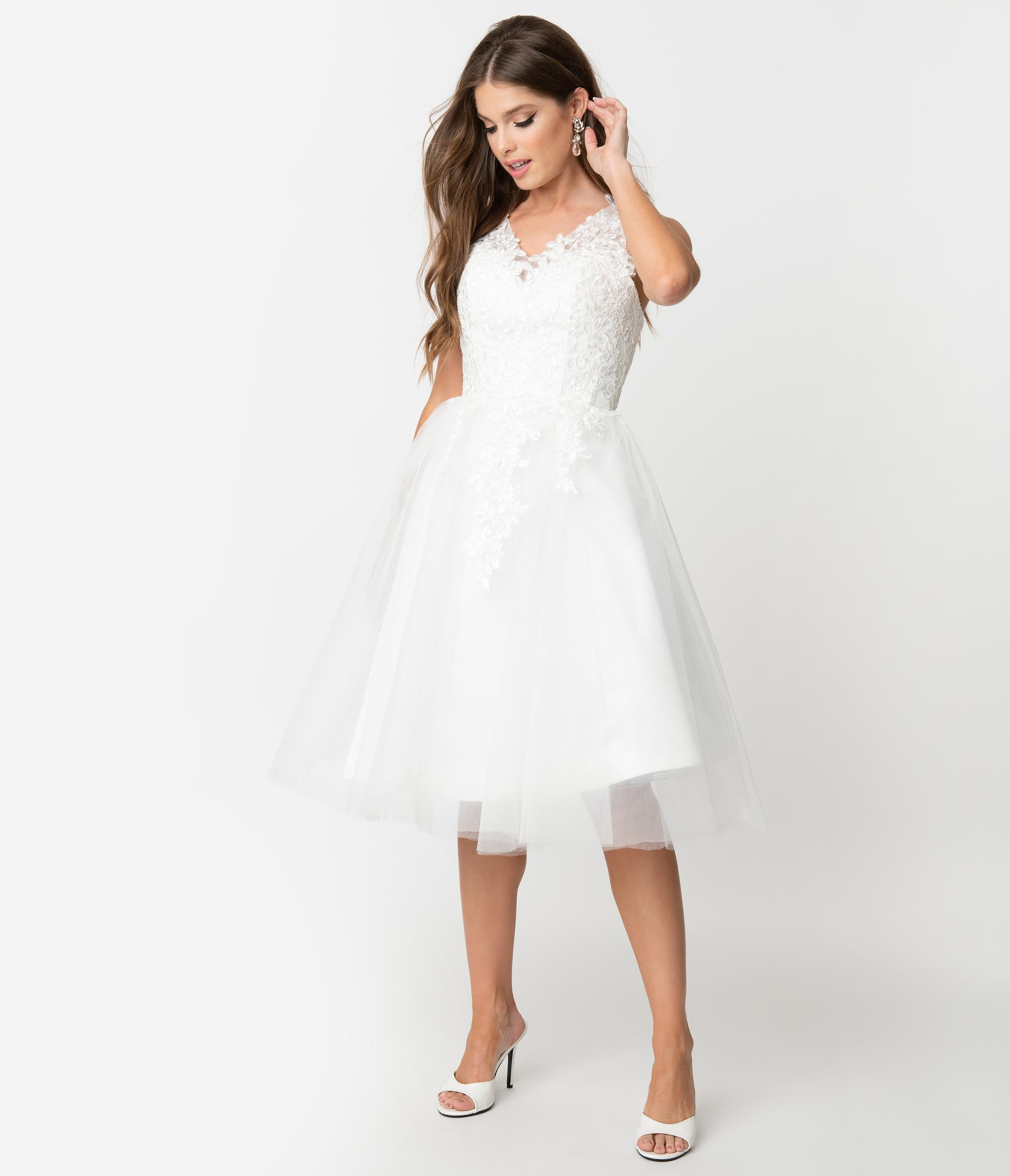 Wedding Dresses For Over 50s Uk: 50s Wedding Dress, 1950s Style Wedding Dresses, Rockabilly