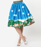 Little Golden Books x Unique Vintage Poky Little Puppy Swing Skirt