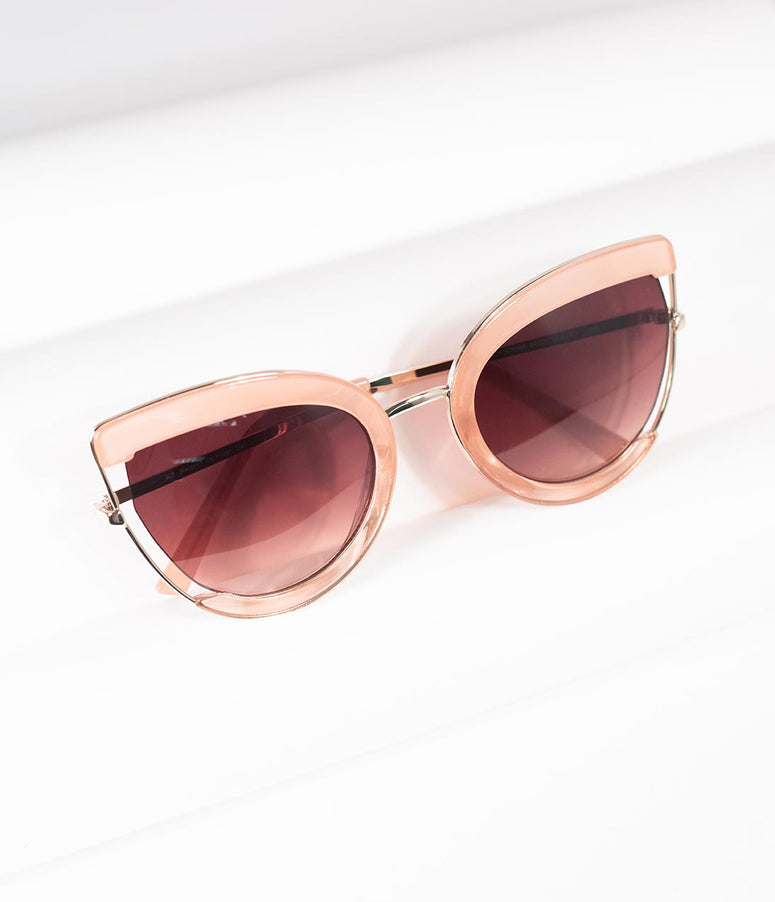 Pink Very Special Cat Eye Sunglasses