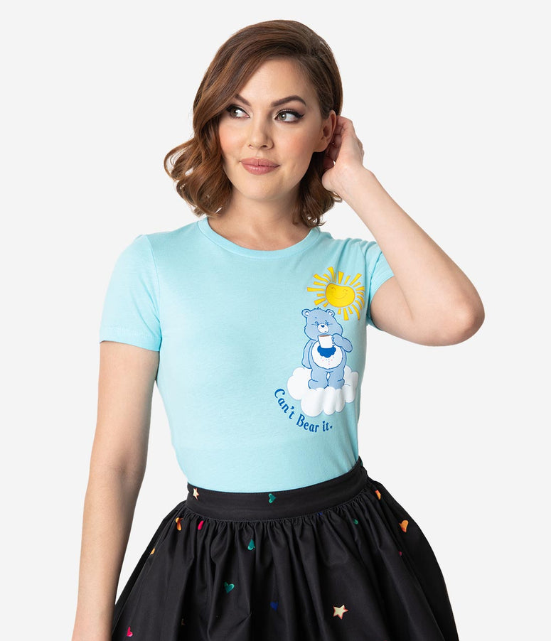 Care Bears x Unique Vintage Can't Bear It Womens Tee