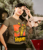 Universal Monsters x Unique Vintage Hunter Green The Mummy Unisex Tee