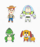 Loungefly Disney Pixar Toy Story Enamel Pin Set