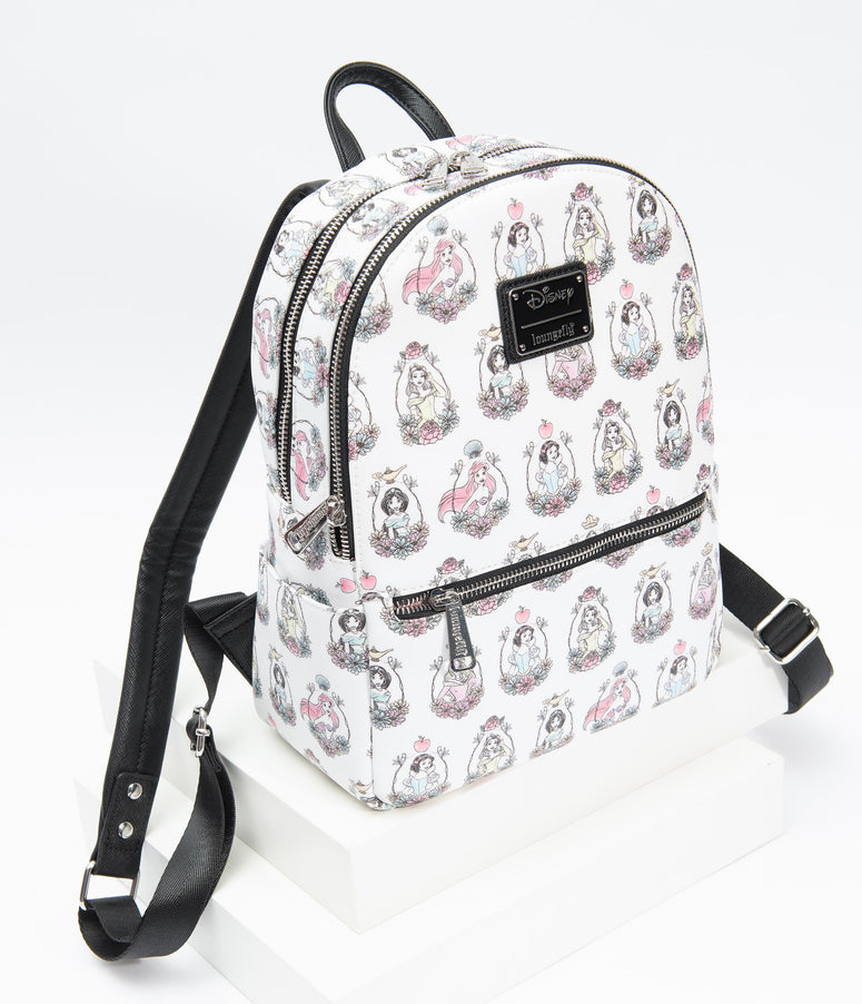 Loungefly Disney Princesses Leatherette Mini Backpack