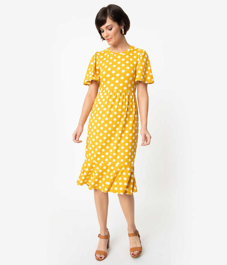 d63ee4218835 Vintage Polka Dotted Dresses: Swing, Flair, A-Line, Pencil – Page 2 ...