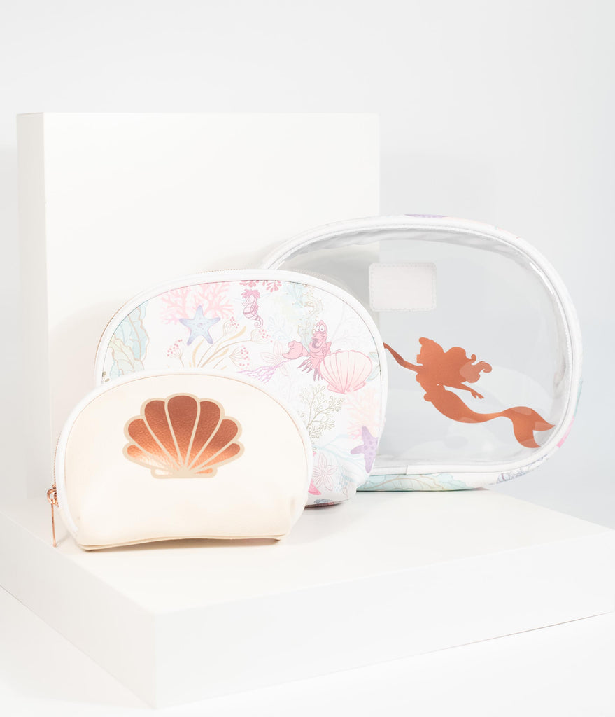 Loungefly Disney The Little Mermaid Cosmetic Case Set