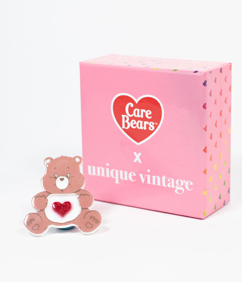 Care Bears X Unique Vintage Tenderheart Resin Brooch