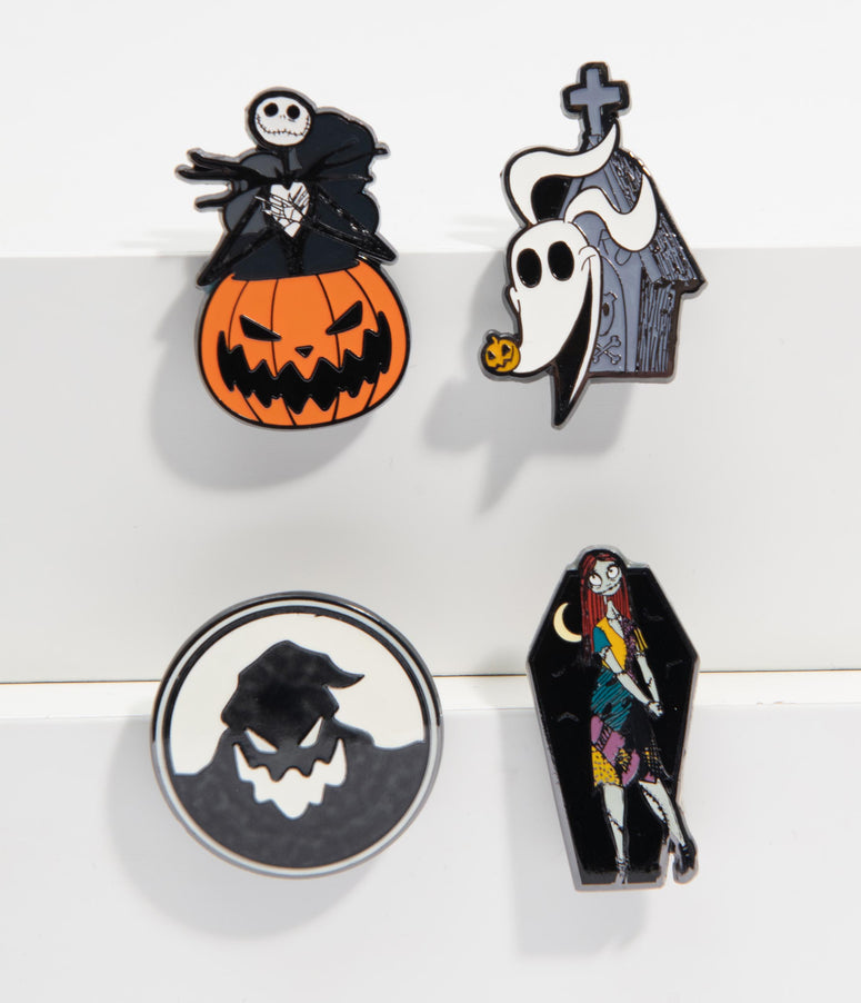 Loungefly The Nightmare Before Christmas Enamel Pin Set