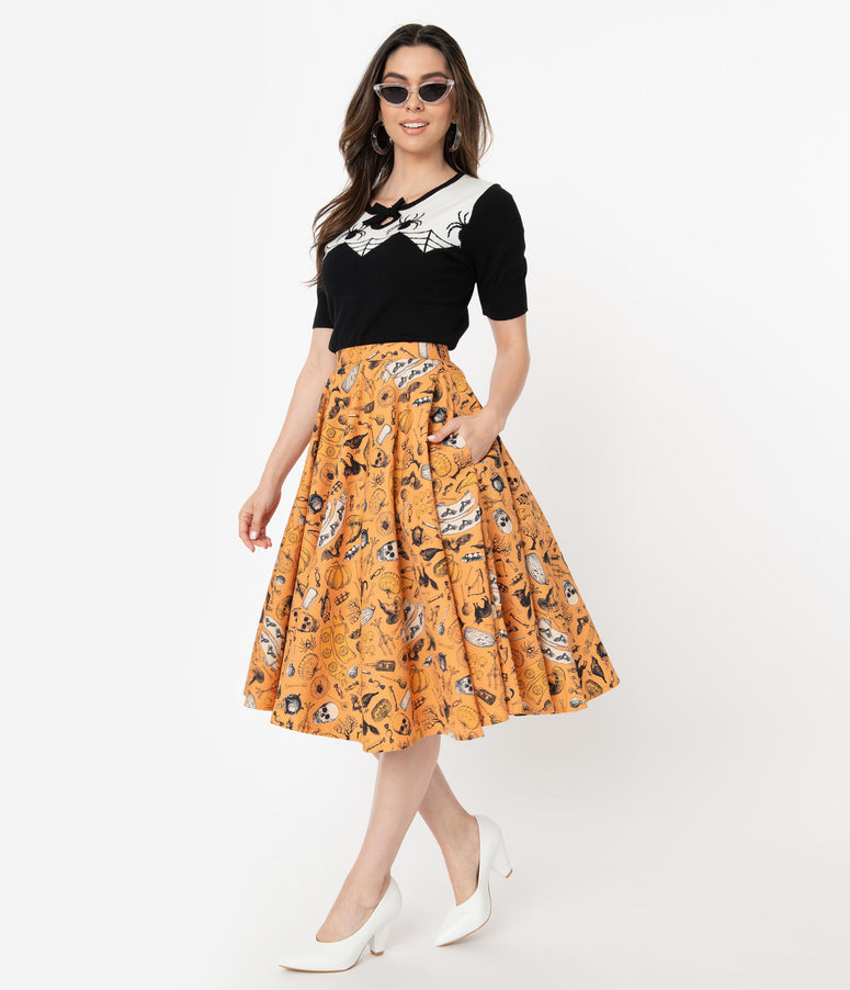 e35d4e8d6 High-Waisted Pencil Skirts, Swing & Pin Up Skirts – Unique Vintage