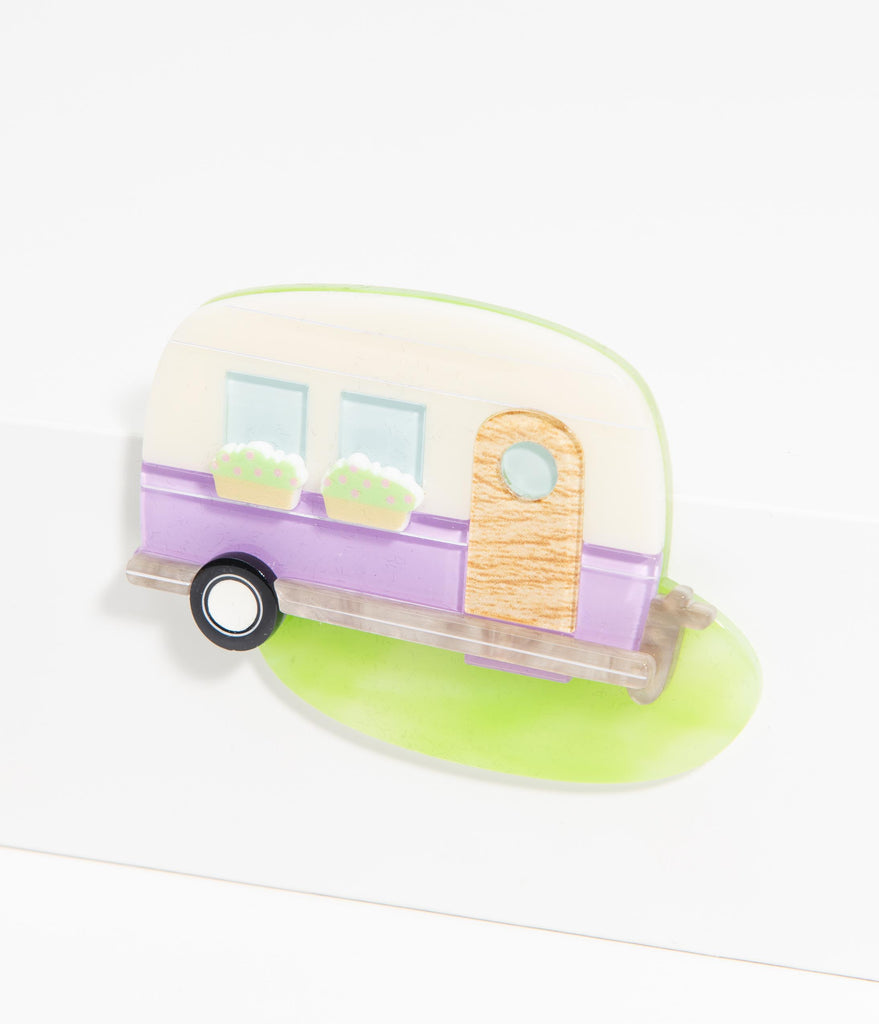 Erstwilder Happy Glamper Resin Brooch Pin