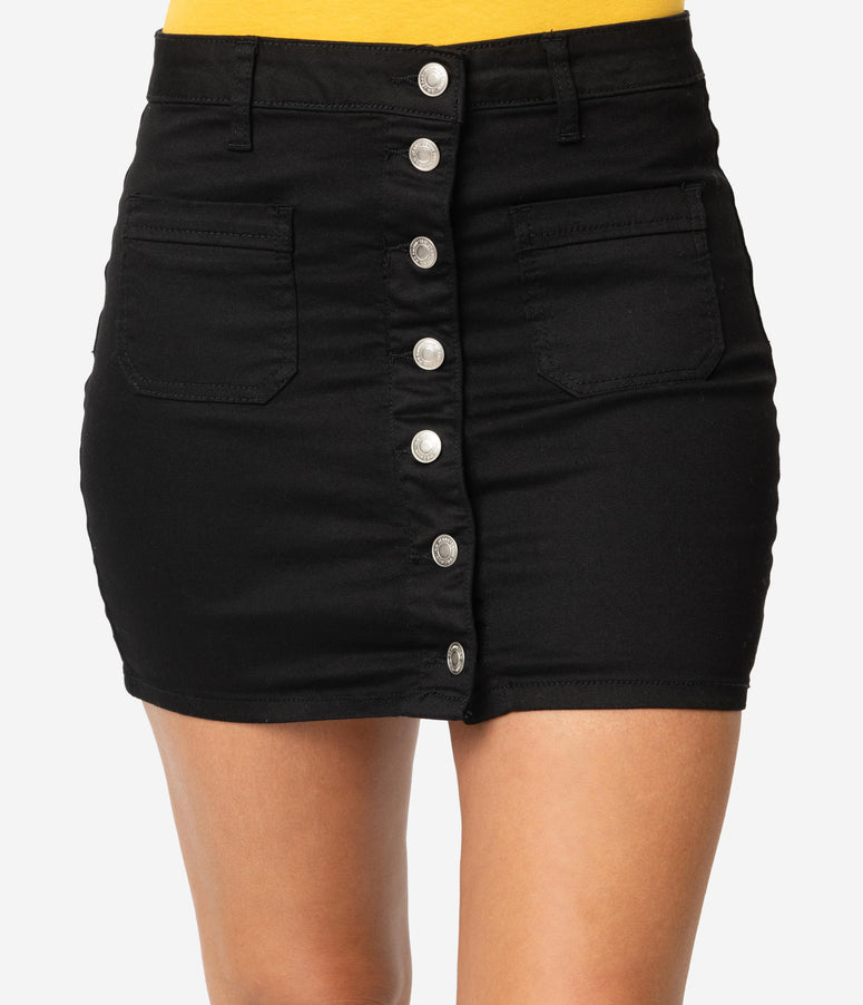 1adf6e9aee High-Waisted Pencil Skirts, Swing & Pin Up Skirts – Unique Vintage