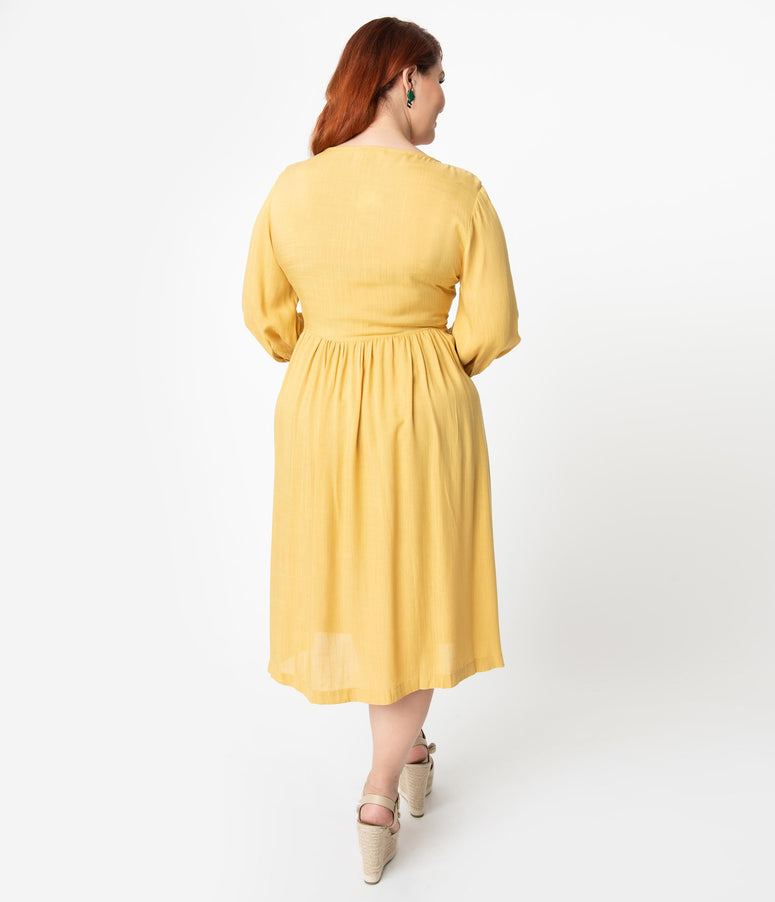 b06b3f2b7aaa Vintage Plus Size & Curve Clothing – Unique Vintage