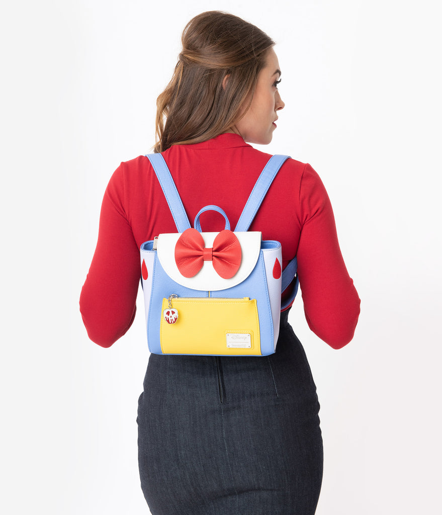 Loungefly Snow White Leatherette Messenger Backpack