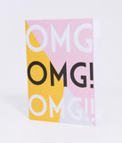 OMG! Paper Greeting Card