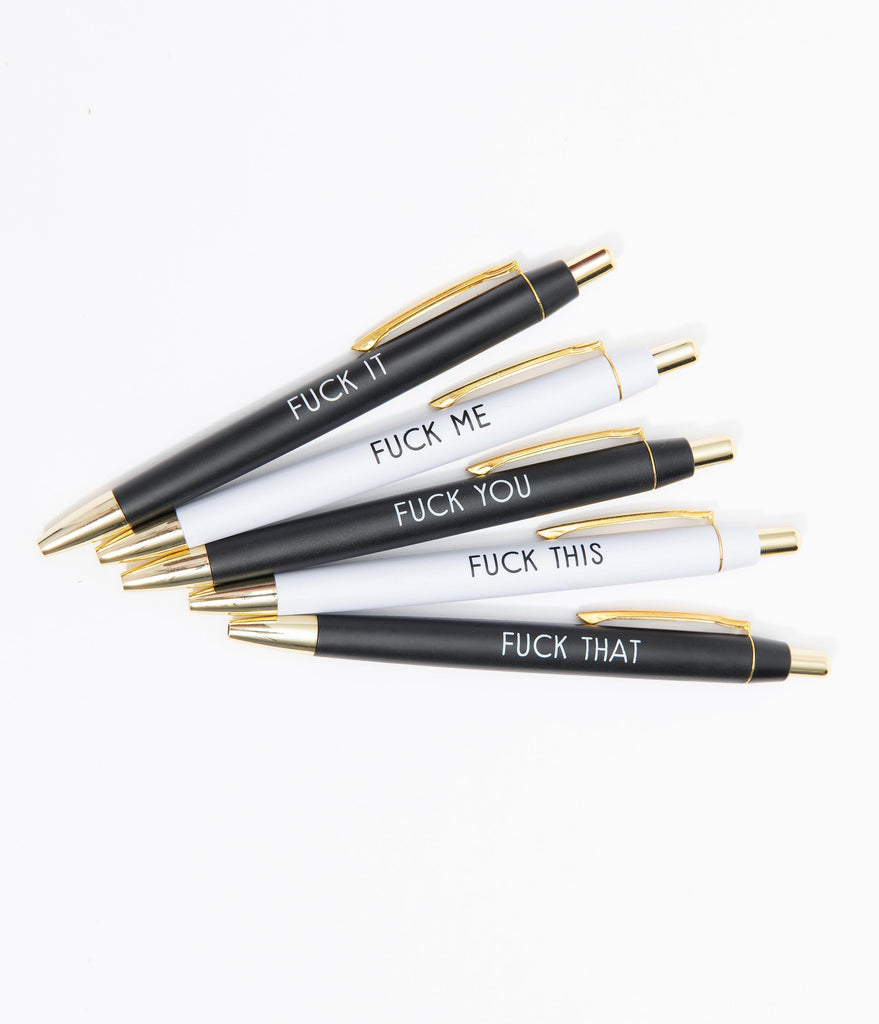 F*ck It All Ballpoint Pen Set