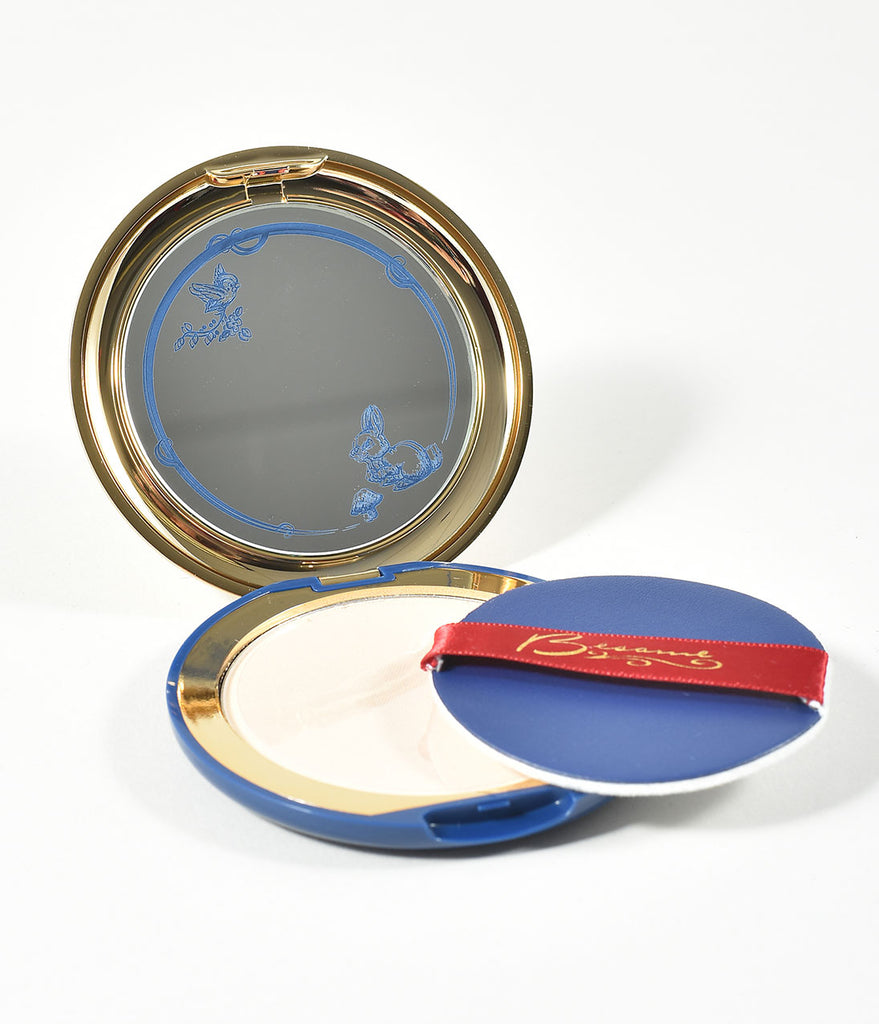 Besame Ever After Translucent Pearl Powder Snow White Compact