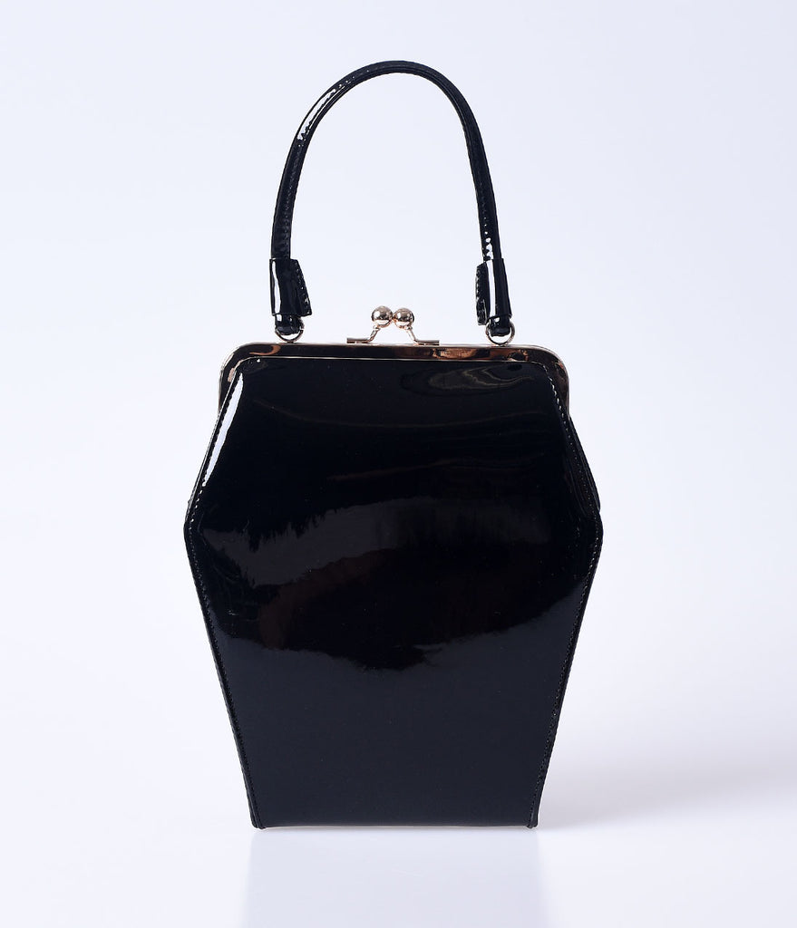 Black Sparkle To Die For Purse