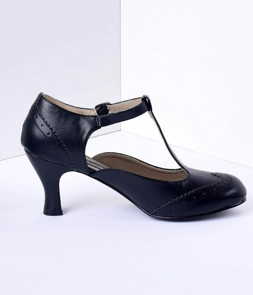 Black Bow Mary Jane Shoes