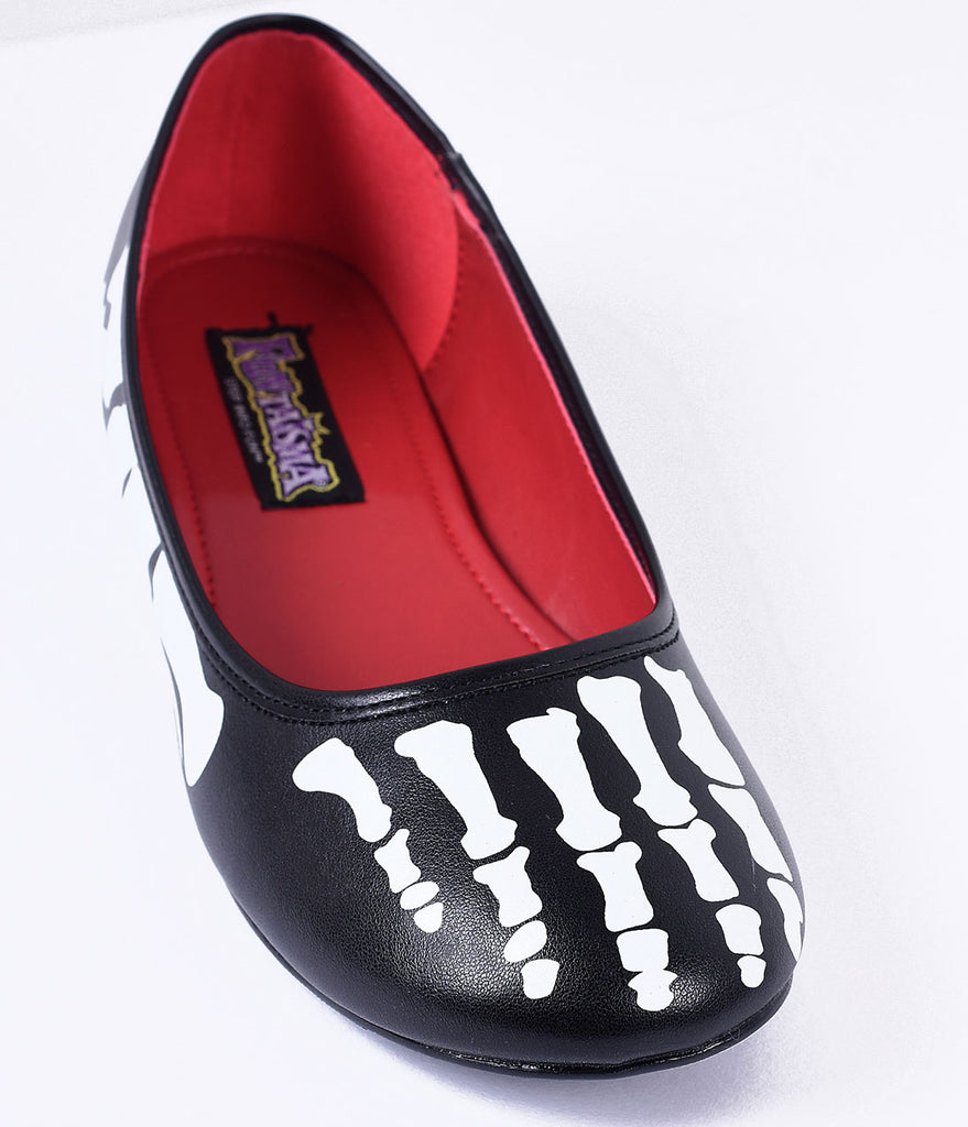 Black & White X-Ray Skeleton Flats