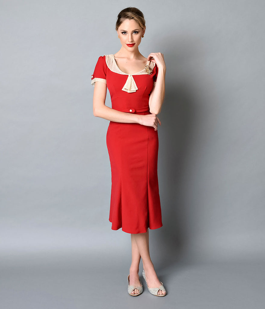 Exclusive_Stop_Staring_1930s_Style_Red_Ivory_Railene_Dress_7_1024x1024.jpg (879×1023)