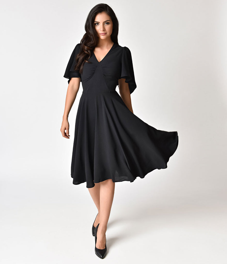 Butterfly Dress with Sleeves