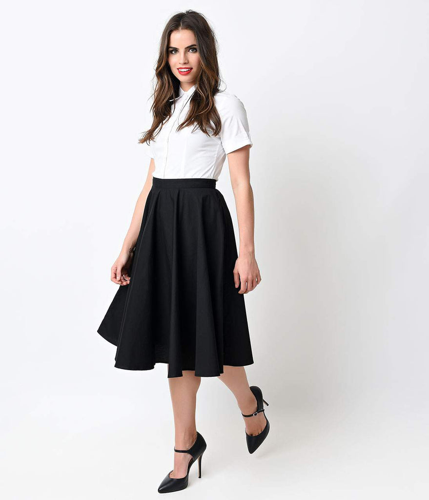 High-Waisted Pencil Skirts, Swing & Pin Up Skirts – Unique ...