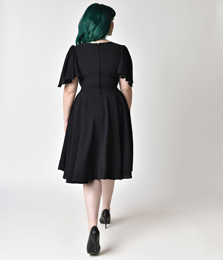 40s inspired plus size dresses