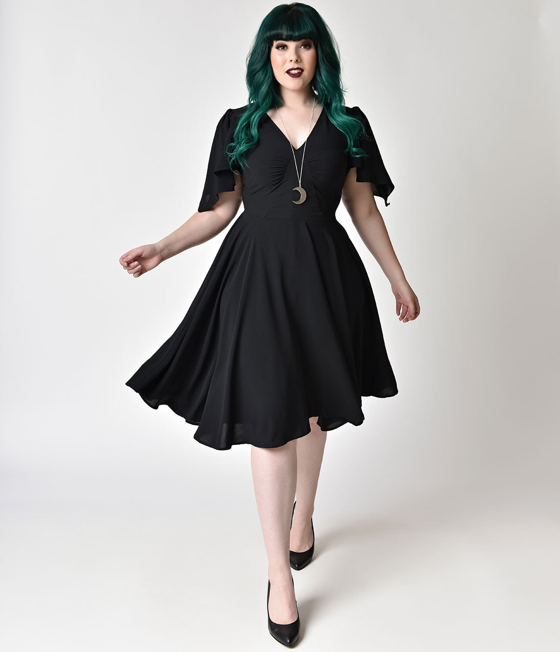 Plus Size Black Dresses Cheap