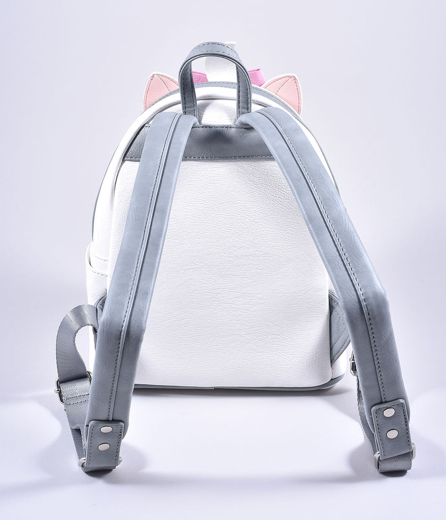 Loungefly Loungefly Ivory Leatherette Aristocats Marie Mini Backpack