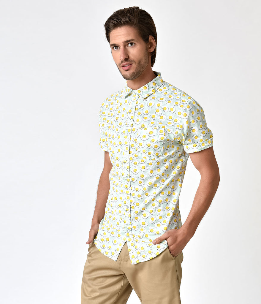 41a7562df85ea mint-green-sunny-side-up-egg-button-down-