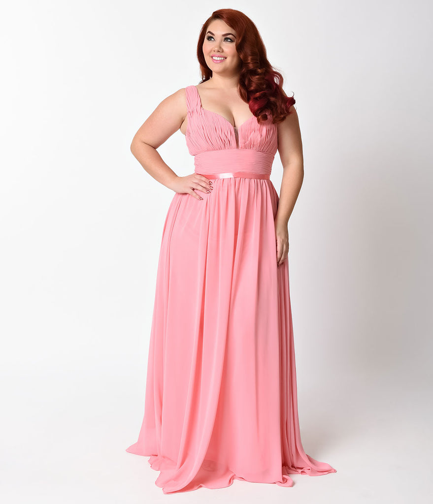 Plus Size Rose Dress – Fashion dresses