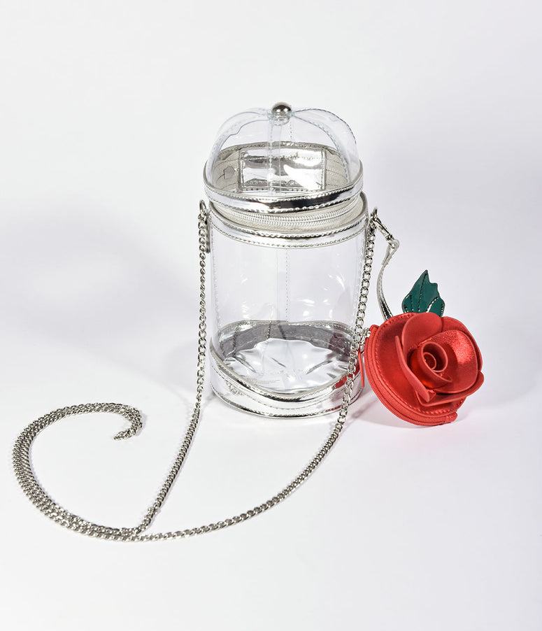 Danielle Nicole Enchanted Rose Bell Jar Crossbody