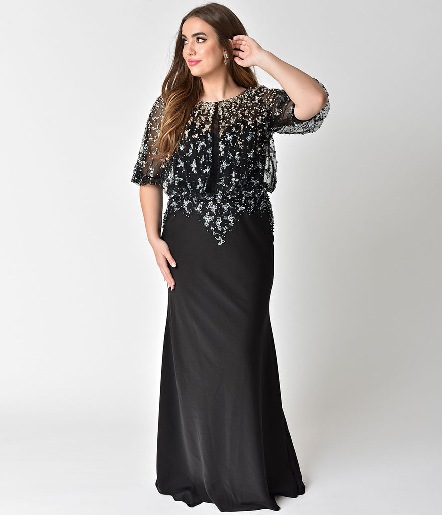 Sleeve Long black dresses plus size pictures forecast to wear in everyday in 2019