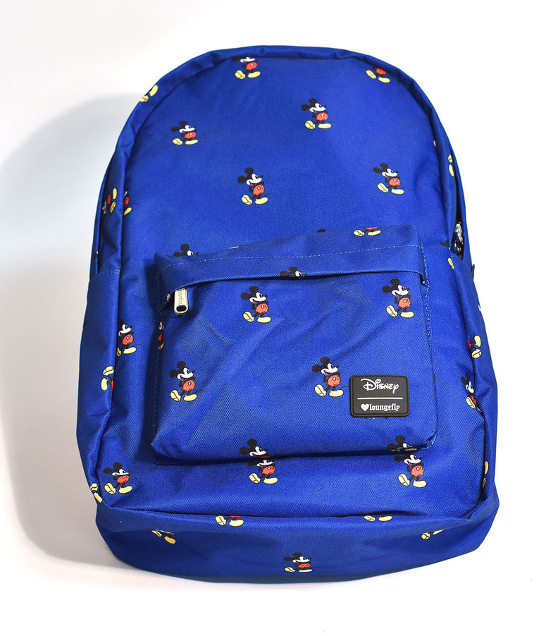 Loungefly Blue Mickey Mouse Disney Backpack