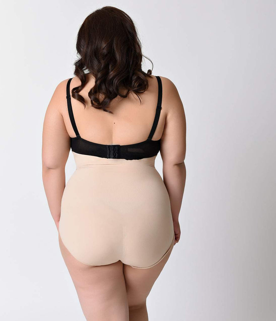 fa350697e0 Spanx Plus Size Nude Higher Power Shaper Panties – Unique Vintage