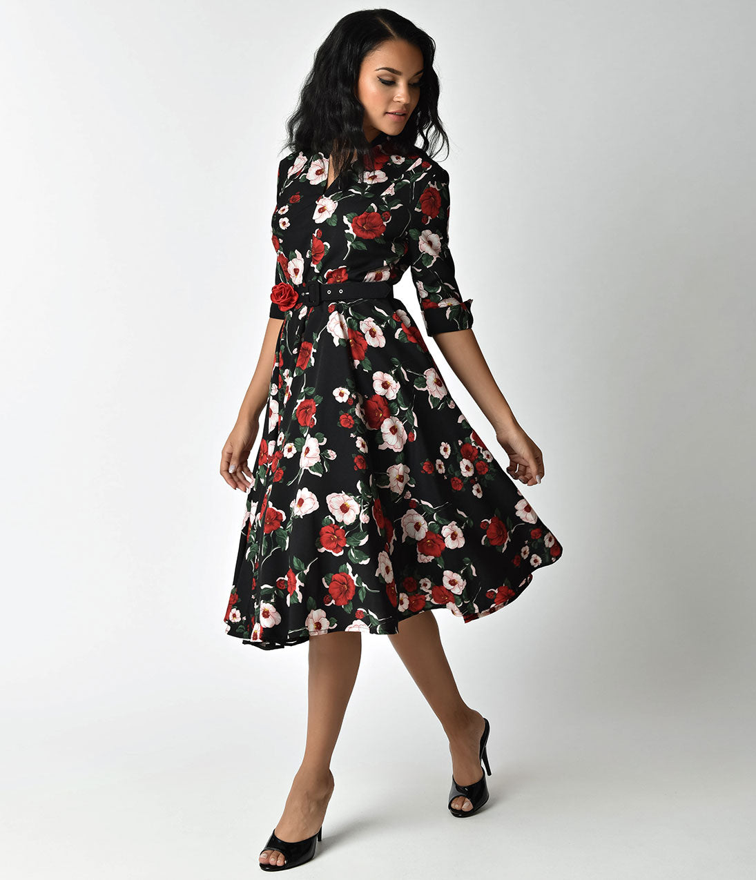 1940s Style Dresses Fashion Clothing