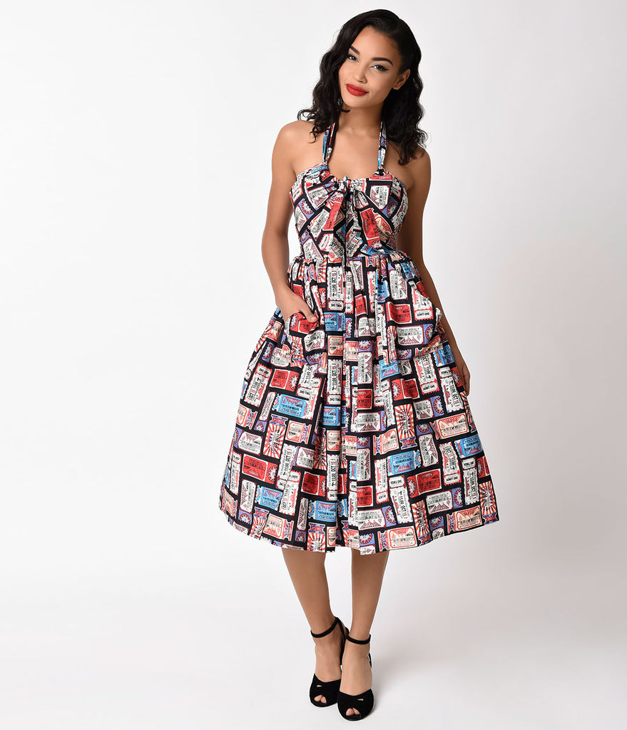 Vintage Circus Dresses For Prom