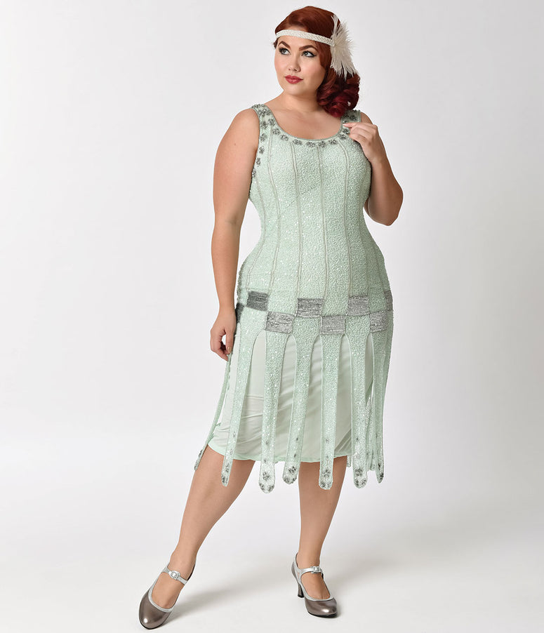 788fd3f2a8ef1 Plus-Size Vintage Dresses - Swing   Pencil Dresses – Page 2 – Unique ...