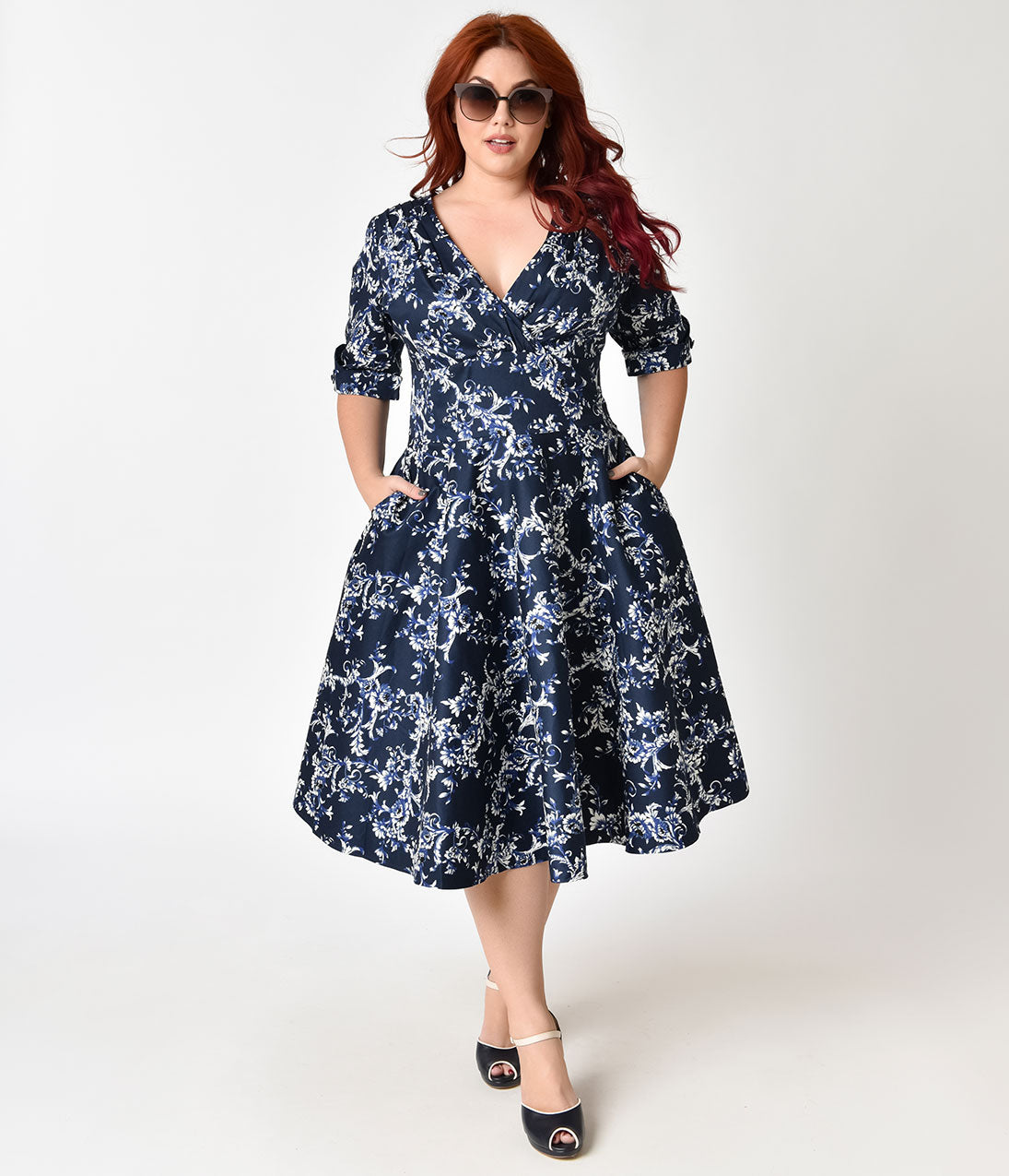 60s Plus Size Retro Dresses, Clothing, Costumes | 70s Dresses