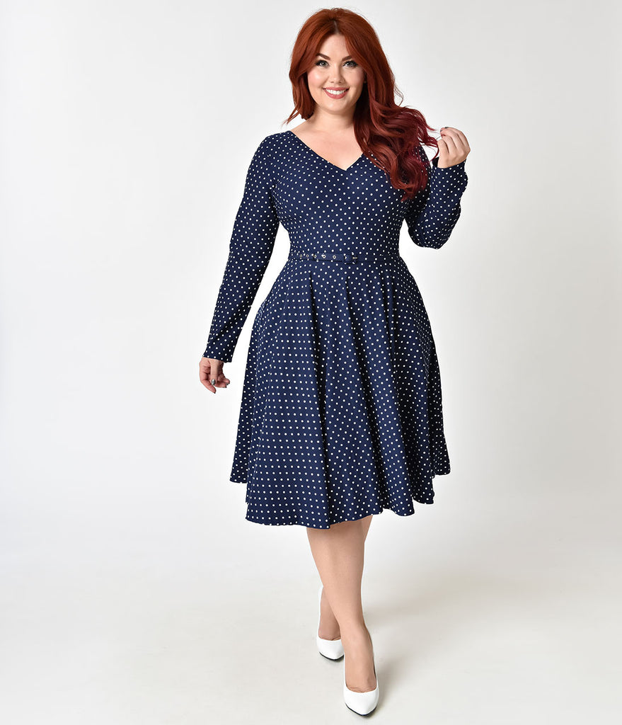 Plus Size Vintage Dresses - Swing & Pencil Dresses ...