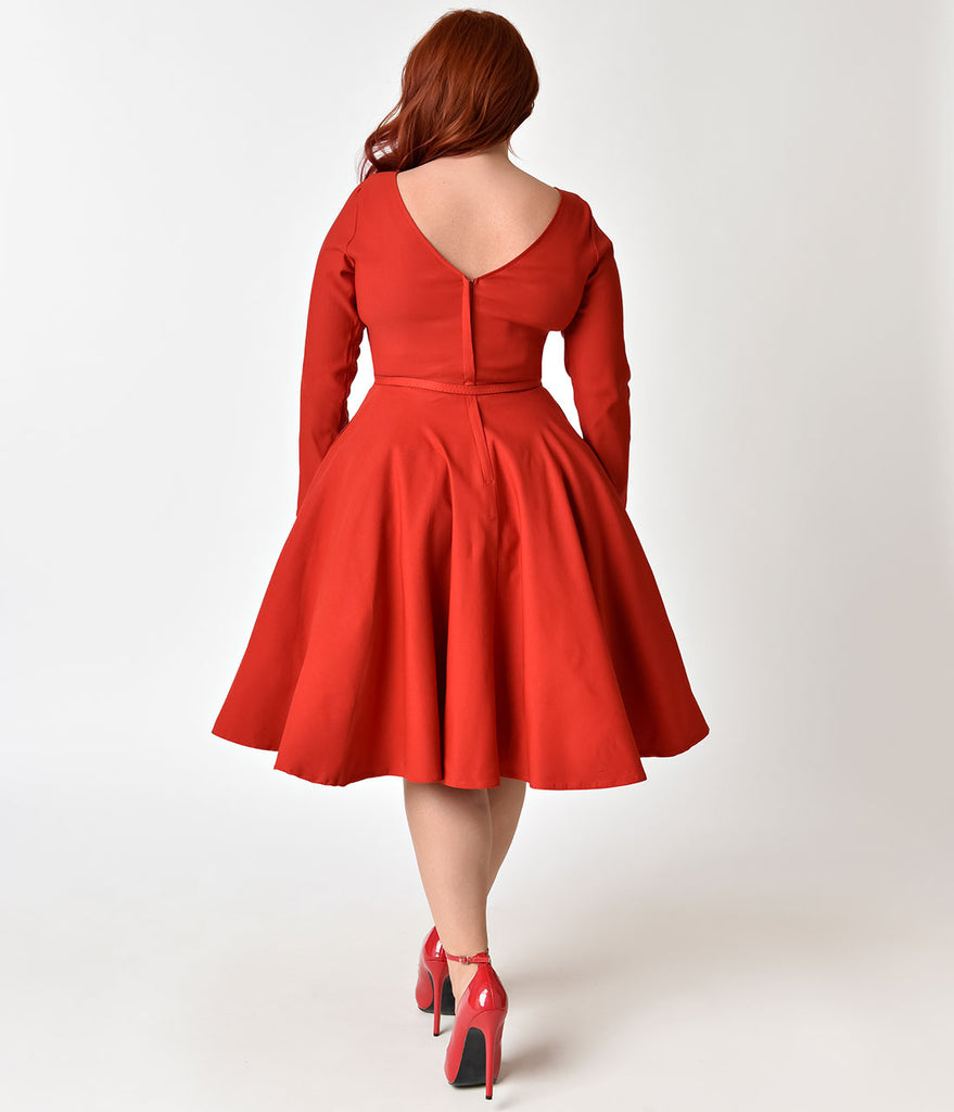 red swing dress plus size plus size vintage dresses swing pencil dresses