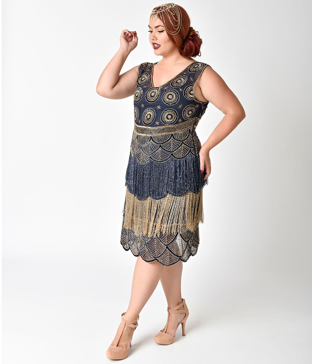 Shop 1920s Plus Size Dresses and Costumes