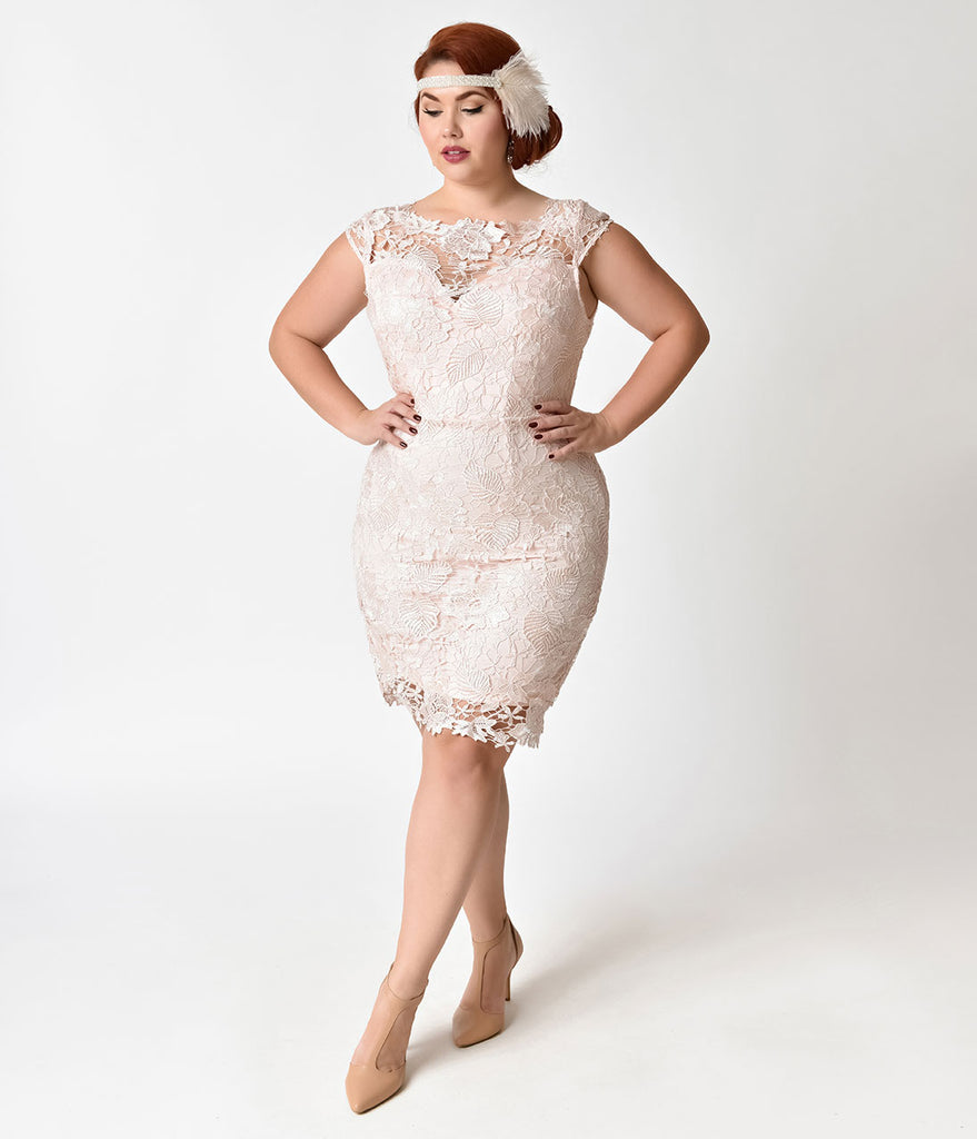 Vintage Inspired Plus Size Gowns