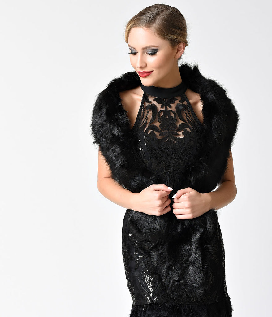 How to vintage wear fur stole recommendations dress in everyday in 2019