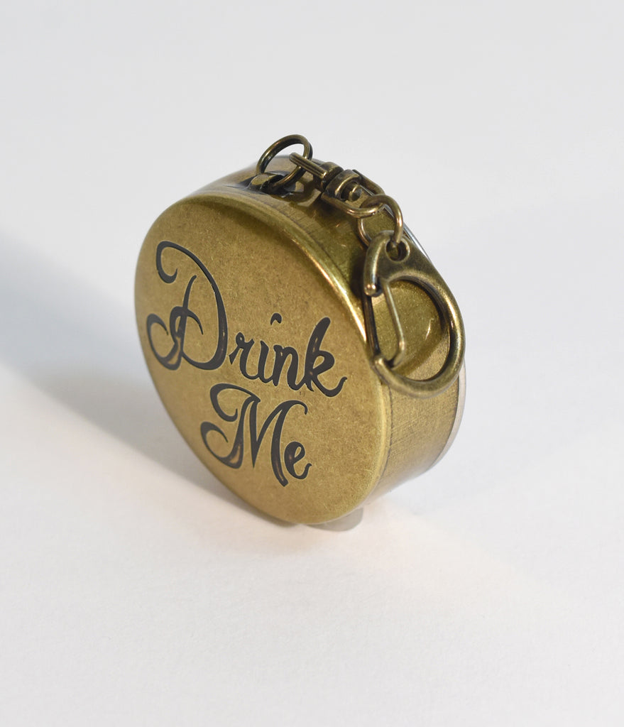 Drink Me Portable Steel Shot Glass