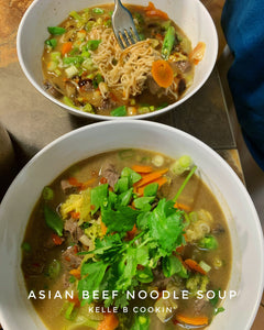 EASY INSTANT POT ASIAN BEEF NOODLE SOUP