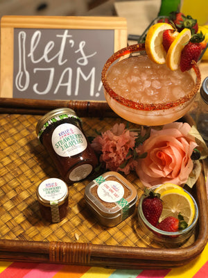 Kelle B Video | Strawberry Jalapeno JAM-arita ~ Happy National Margarita Day