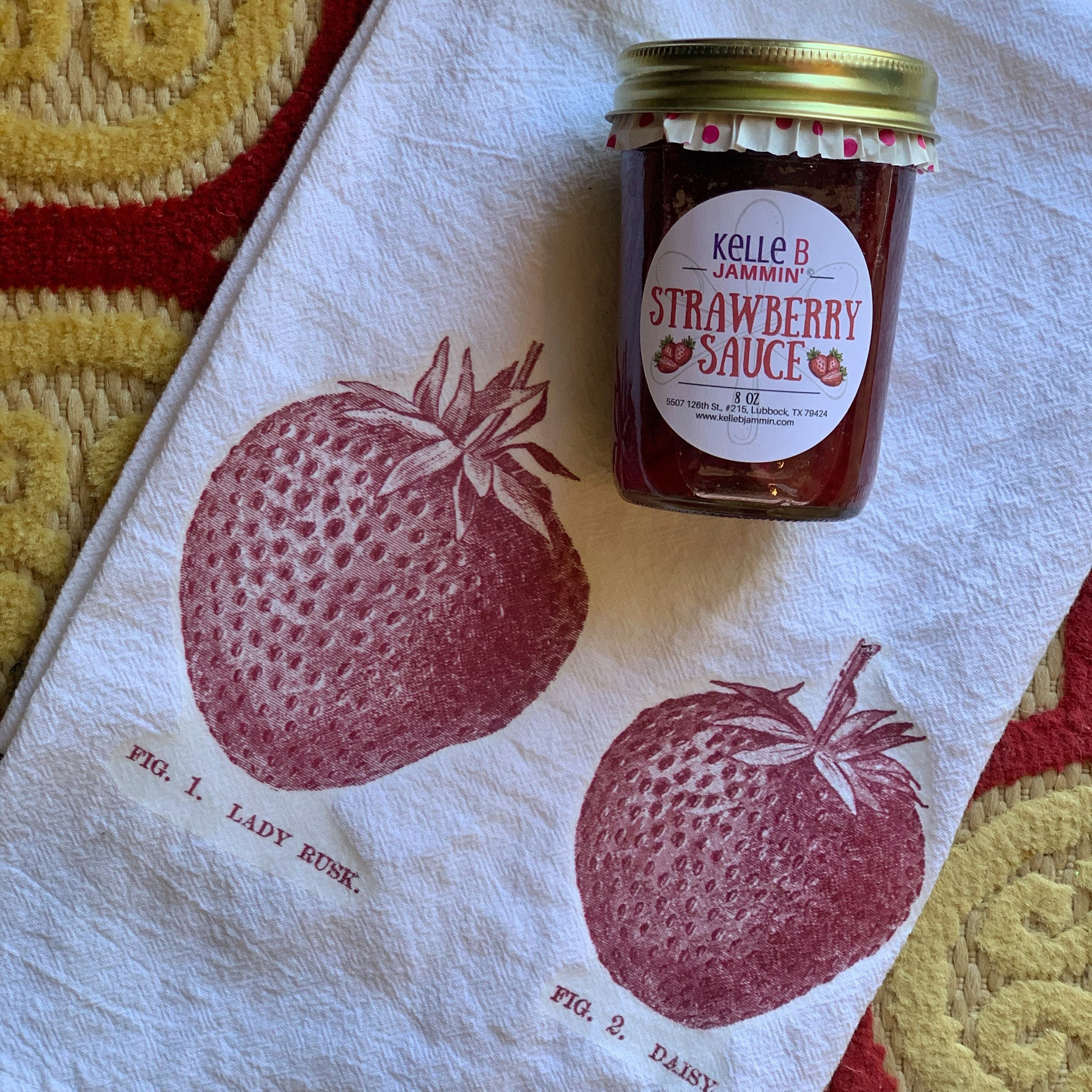Kelle B's Strawberry Sauce