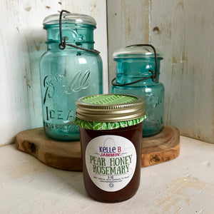 Pear Honey Rosemary