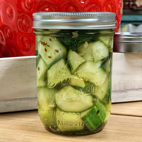 Sweet & Sour Dill Pickles